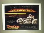 1998 Big Dog Vintage Classic Motorcycle Ad - Armageddon