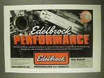 1998 Edelbrock Motorcycle Parts Ad - Performance