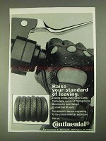1995 Continental Tires Ad - Raise Your Standard