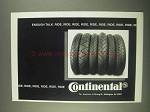 1994 Continental Tires Ad - Enough Talk. Ride, Ride,