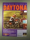 1993 Custom Chrome Parts and Accessories Ad - Daytona