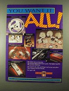 1993 Custom Chrome Parts & Accessories Ad - Want it All