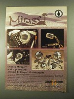 1993 Custom Chrome Parts and Accessories Ad - Mirage