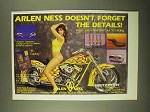 1993 Arlen Ness Parts Ad - Don't Forget the Details