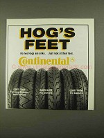 1993 Continental Tires Ad - Conti Tour, Blitz