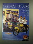 1992 Custom Chrome Motorcycle Parts Ad - Dream Book