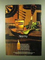 1992 Monte Alban Mezcal Ad - Nice Try