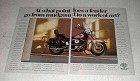 1991 Harley-Davidson Heritage Softail Classic Ad