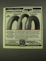 1991 Avon SM Mark II, Roadrunner & Roadranger Tires Ad