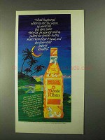 1990 Monte Alban Mezcal Ad - When He Ate The Worm