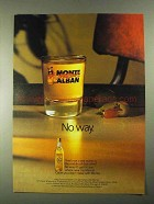 1990 Monte Alban Mezcal Ad - No Way