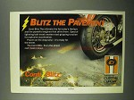 1987 Custom Chrome Continental Conti Blitz Tires Ad