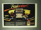 1987 Custom Chrome Accel Ignition Products Ad