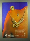 1986 Stamper Black Hills Gold Jewelry Ad
