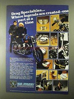 1982 Drag Specialties Parts & Accessories Ad - Legends