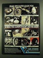 1981 Drag Specialties Parts and Accessories Ad - Leads