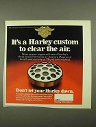 1981 Harley-Davidson Performance Air Cleaner Ad