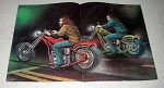 1977 David Mann Illustration - Choppers