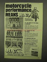 1976 R.C. Components Ad - Motorcycle Performance