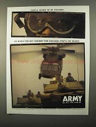 1998 U.S. Army Ad - You'll Learn to Be Focused