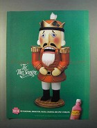 1997 Pepto-Bismol Medicine Ad - 'Tis The Season