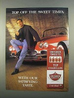 1997 Swisher Sweets Tip Cigarillos Ad - Top Off Sweet