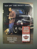 1997 Swisher Sweets Cigarillos Ad - Top Off Sweet Times