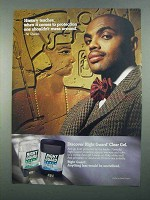 1996 Right Guard Sport Deodorant Ad - Charles Barkley