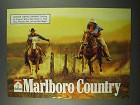 1996 Marlboro Cigarettes Ad - Country