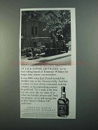 1996 Jack Daniel's Whiskey Ad - At Distillery