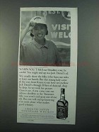 1996 Jack Daniel's Whiskey Ad - When You Take Tour
