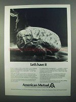 1968 American Mutual Ad - Let's Have It