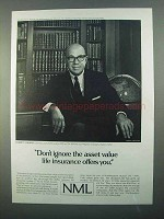 1968 Northwestern Mutual Life Ad - Asset Value