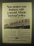 1968 Allstate Insurance Ad - Protect Your Business