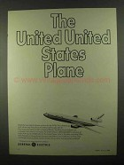 1968 General Electric Jet Engines Ad - United States