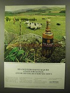 1968 Seagram's 100 Pipers Scotch Ad - His Ancestors