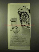1968 Seagram's Crown Royal Whisky Ad - Make Nervous