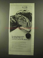 1968 Seagram's Crown Royal Whisky Ad - Across Border