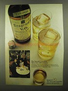 1968 Seagram's V.O. Canadian Whisky Ad - With Women