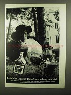 1968 Irish Mist Liqueur Ad - Something In It Irish