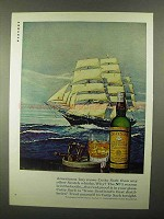 1968 Cutty Sark Scotch Ad - Americans Buy More