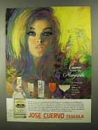 1968 Jose Cuervo Tequila Ad - Created the Margarita