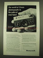 1968 Rollei 35 Camera Ad - In the Palm of Your Hand