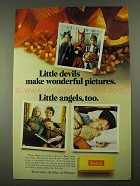 1968 Kodak Film Ad - Little Devils Wonderful Pictures