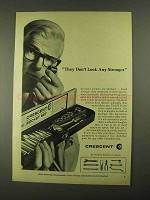 1968 Crescent Socket Set Ad - Don't Look Any Stronger