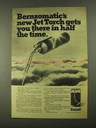 1968 Berzomatic Jet Torch Ad - There in Half The Time