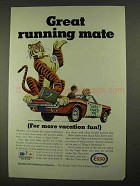 1968 Esso Oil Ad - Great Running Mate