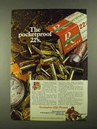 1968 Remington Hi-Speed Cartridges Ad - Pocketproof