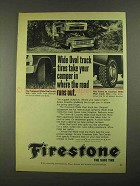 1968 Firestone Transport, Town & Country Truck Tire Ad