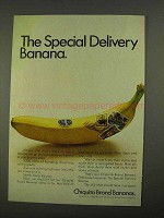 1968 Chiquita Bananas Ad - The Special Delivery